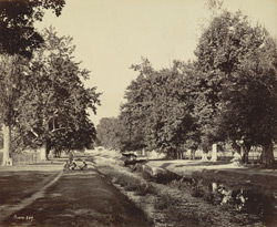 The entrance to Shalimar Bagh, Srinagar